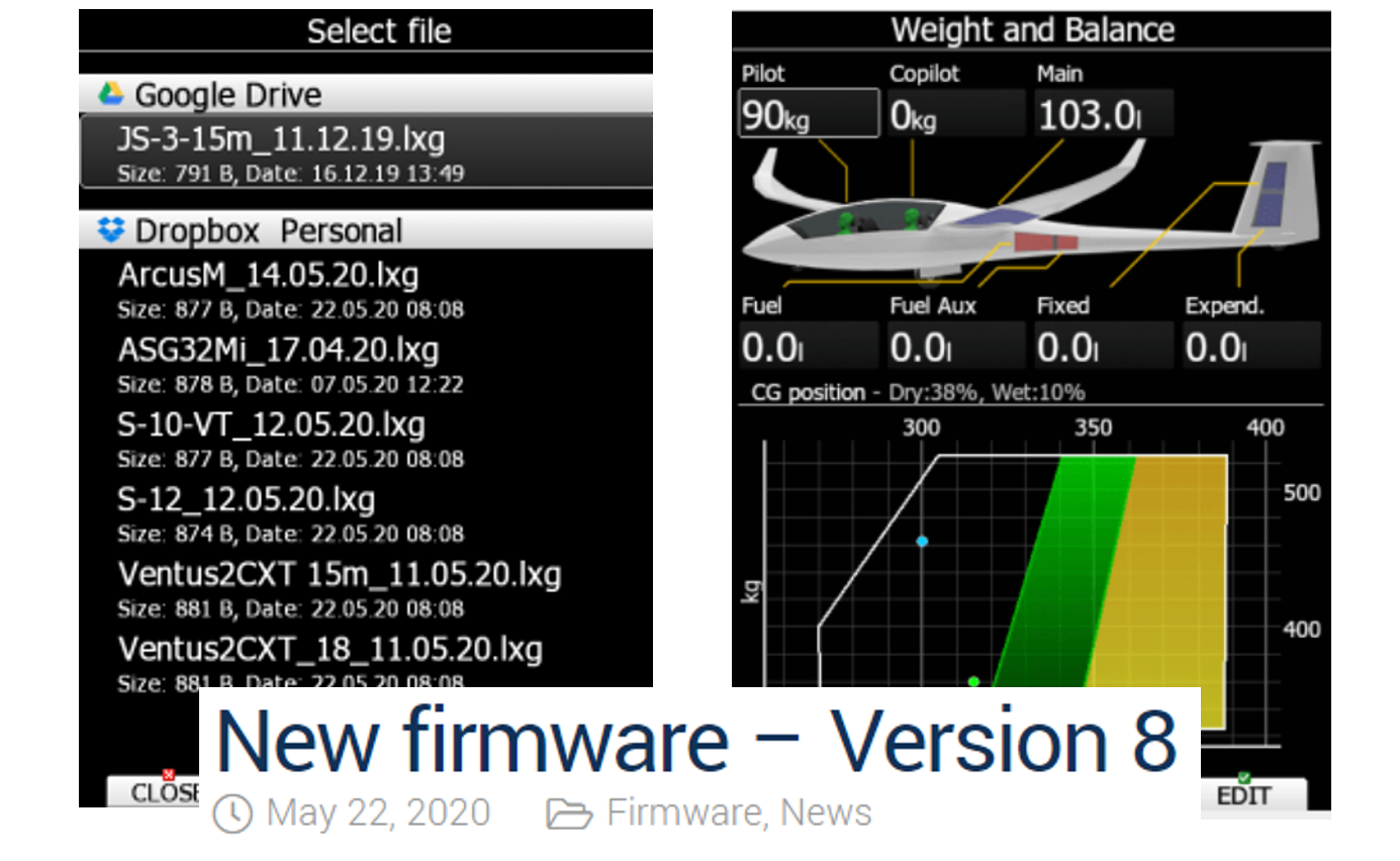 Centrage et sécurité avec la version 8 du logiciel LX80/90XX