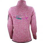 Polaire femme Soaringxx Silver Lining Fleece Grey & Pink