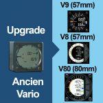 upgrade l'ancien vario de votre calculateur vers v9, v8, v80