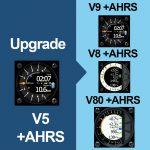 upgrade v5 avec AHRS vers un v9, v8 ou v80 avec AHRS
